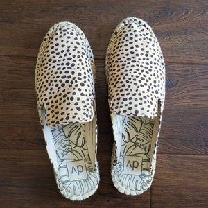 Target dolce vita espadrille leopard mules 10